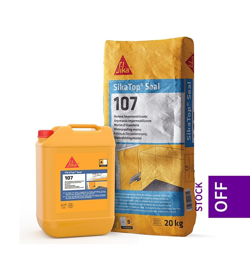 Argamassa de impermeabilização Sikatop Seal 107