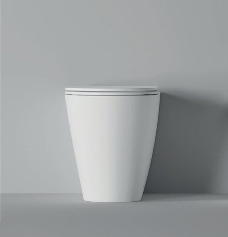 Sanita (sem tampa) 57x37 Alice Ceramica Hide Round
