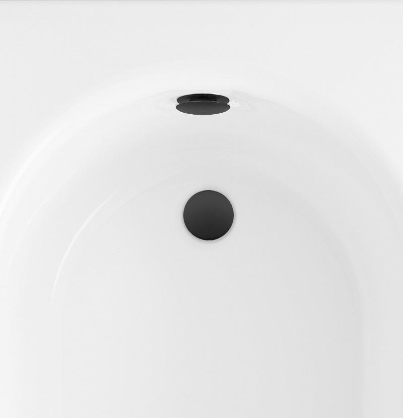 Válvula para banheira Float/Dive B1.STD preto mate