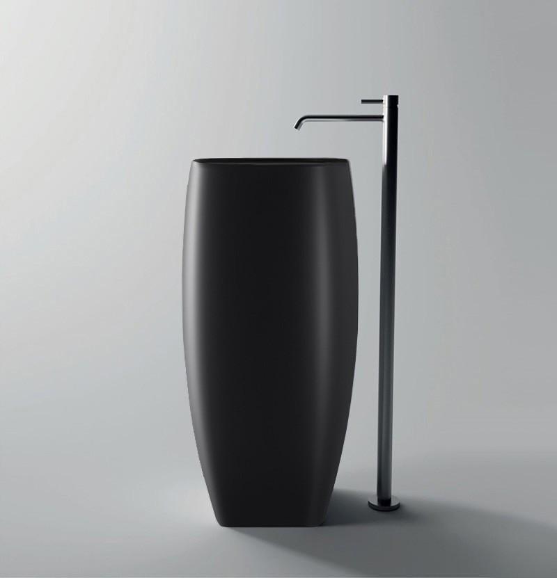 Lavatório freestanding 40x45 Nur preto mate