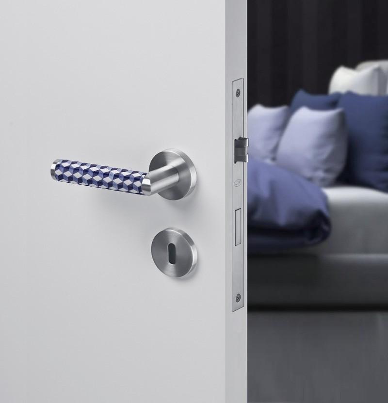 Puxador de porta Link Porcelana Porto IN.00.445