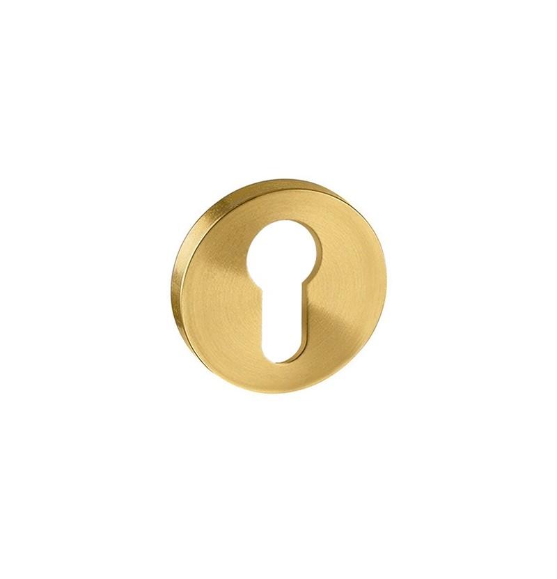 Entrada para cilindro europeu IN.04.28R.Y08.N.TG Titanium Gold