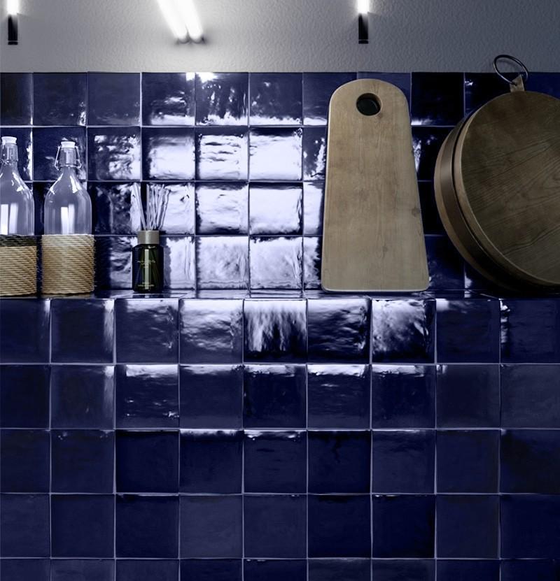 Revestimento 10x10 Zelij Azul Cobalto