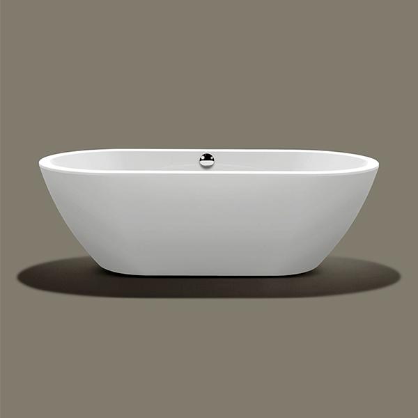 Banheira com válvula 190x90x60 Knief Form branca